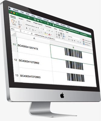 Barcoding on Mac